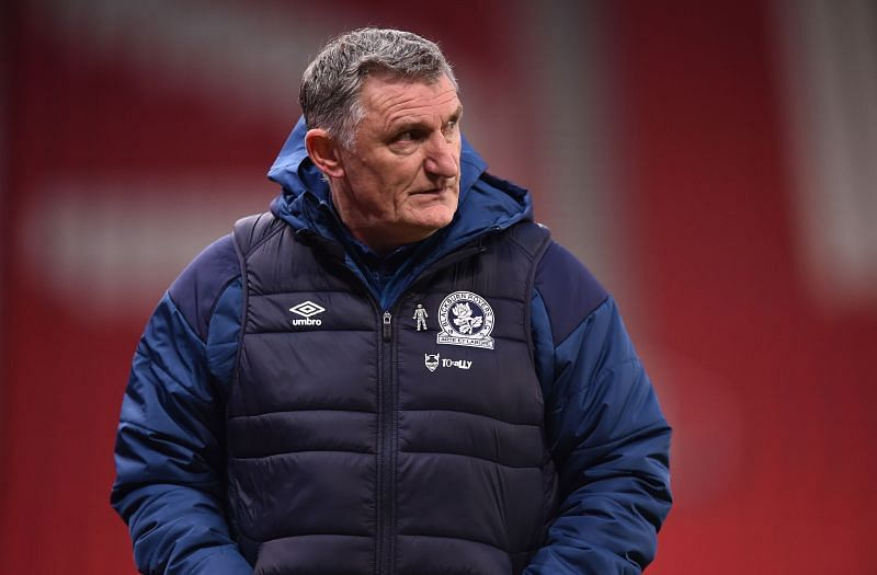 Blackburn Rovers head coach Tony Mowbray is under pressure after some disappointing recent results