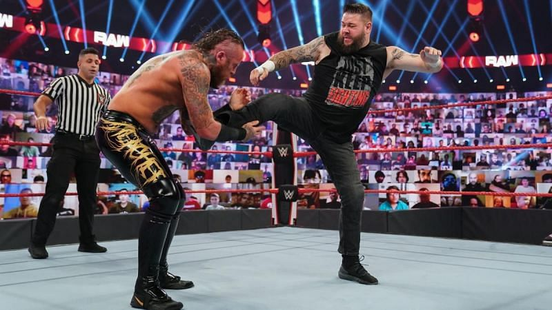 Aleister Black and Kevin Owens
