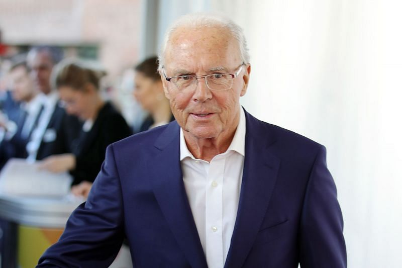 Former Bayern Munich and Germany legend Franz Beckenbauer