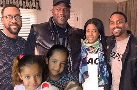 Michael jordan's kids and wife