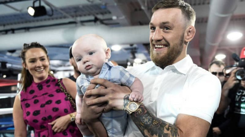 Conor McGregor and his family