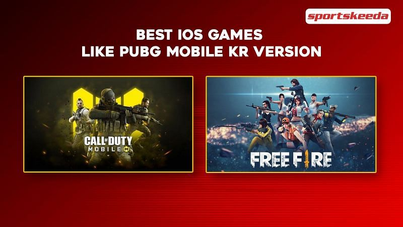 5 best iOS games like PUBG Mobile KR version
