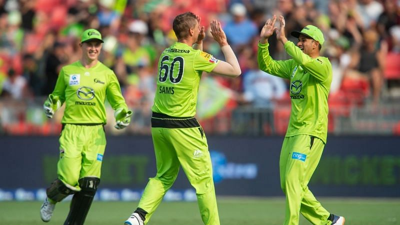 Sydney Thunder come into the BBL game in great form.