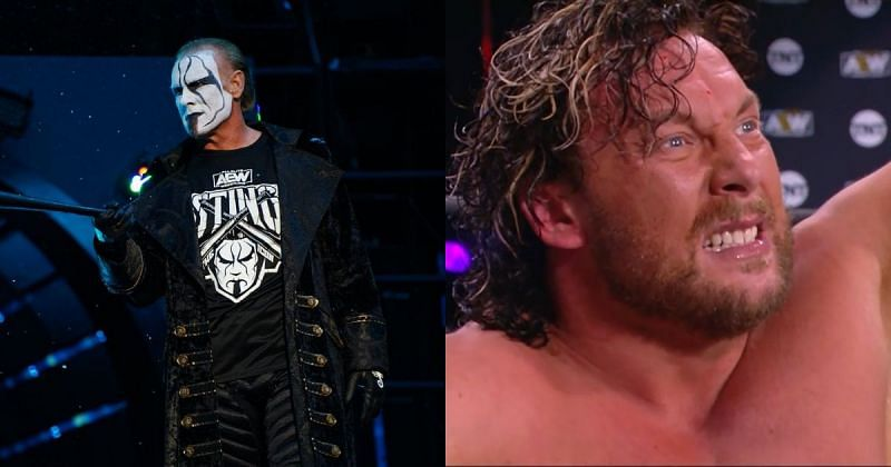 Sting and Kenny Omega.