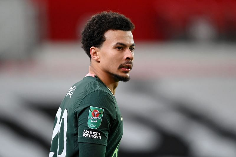 Dele Alli has fallen down the pecking order at Tottenham Hotspur in recent years