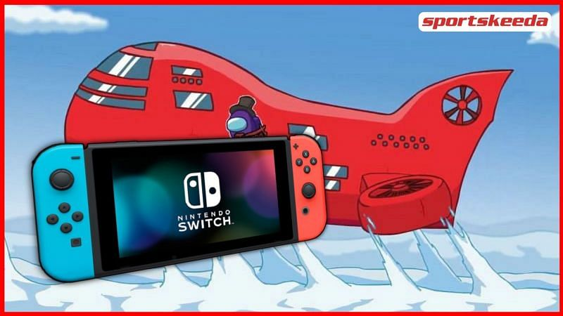 The new airship map for Among Us was revealed at The Game Awards 2020 and can now be played on Nintendo Switch (Image via Sportskeeda)