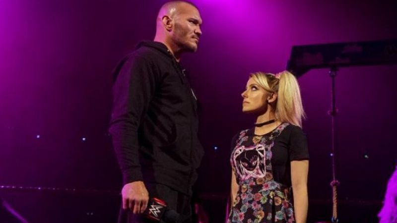 Randy Orton and Alexa Bliss