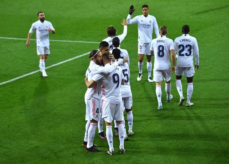 Real Madrid defeated Eibar 3-1