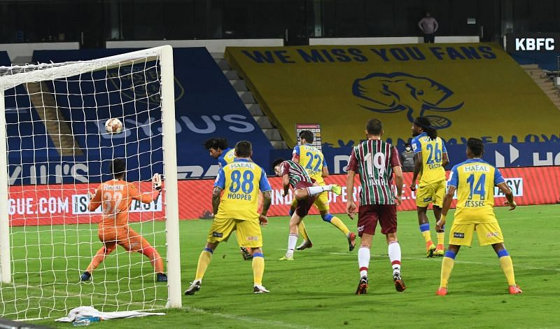 Kerala Blasters are one of three teams looking for their first win in the ISL 2020/21 (Image Courtesy: ISL Media)