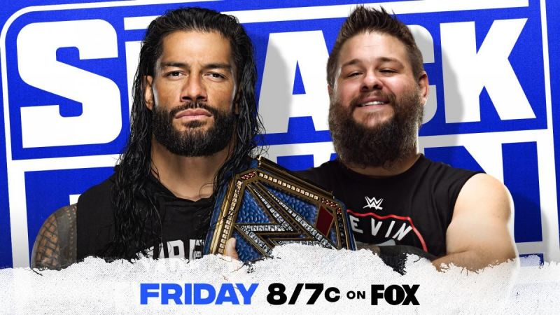 Kevin Owens and Roman Reigns will go head-to-head in a steel cage match on this week