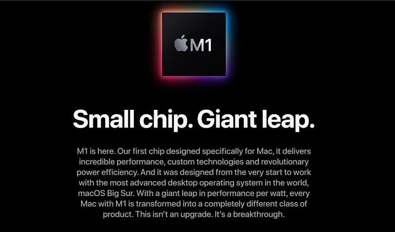M1 Image by Apple.com