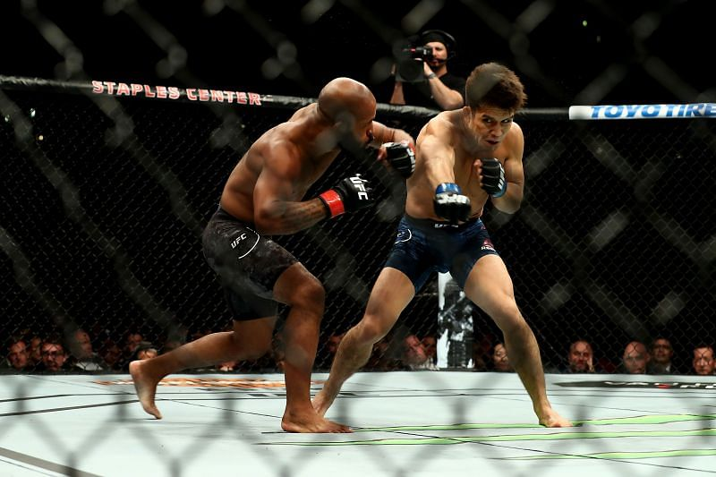 Demetrious Johnson and Henry Cejudo fought twice in their UFC careers
