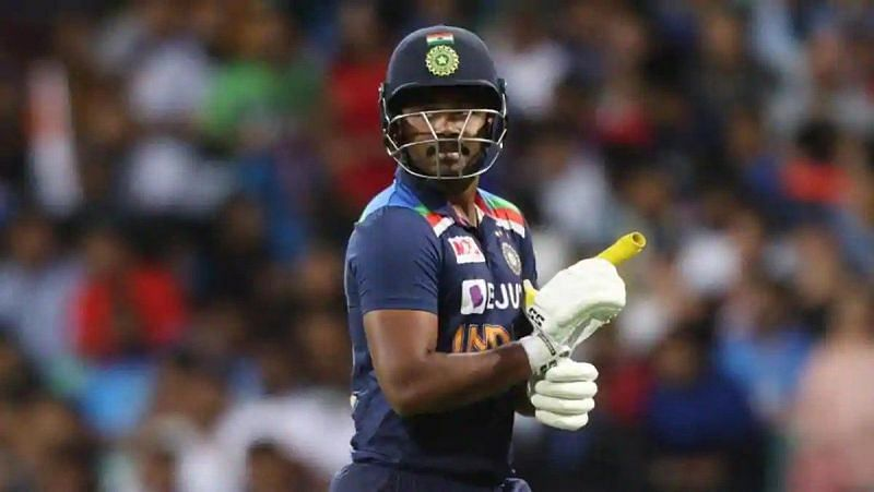 Sanju Samson scored just 48 runs in three T20Is against Australia at a poor average of 16