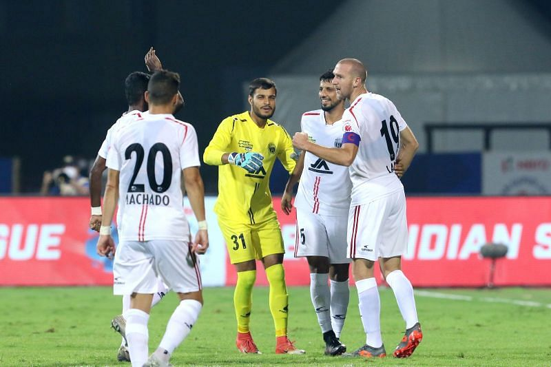 Benjamin Lambot might feel that he should have scored at least one more goal. Courtesy: ISL