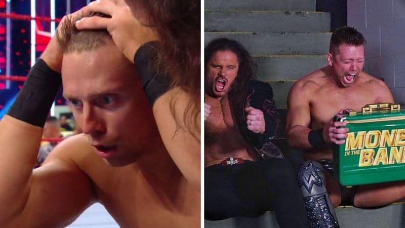 WWE RAW के दौरान द मिज