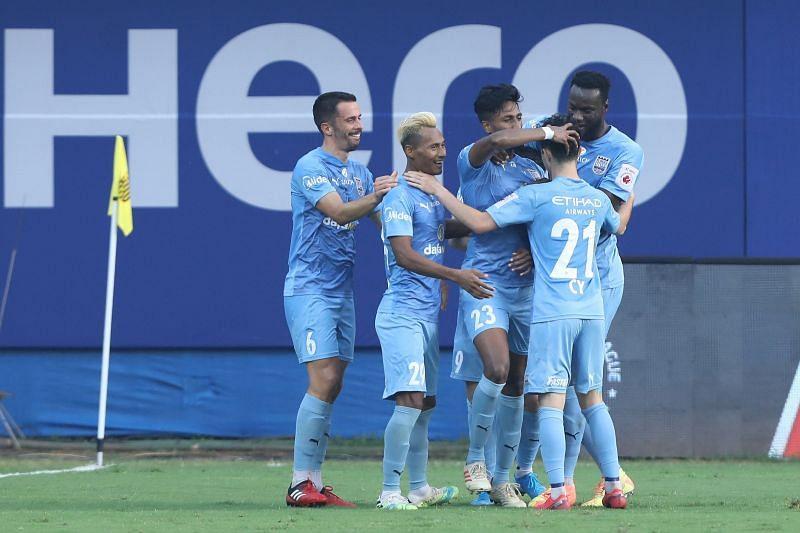Mumbai City FC players (Image courtesy: ISL)