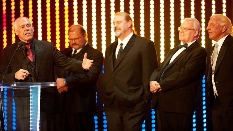 The Four Horsemen were inducted into the Hall Of Fame in 2012