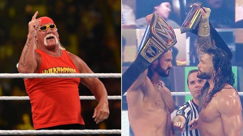 Hulk Hogan gave his thoughts on Roman Reigns and Drew McIntyre.
