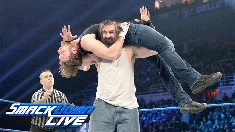 Luke Harper vs. Dean Ambrose on SmackDown.