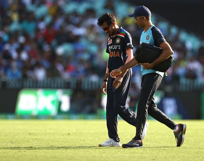 Yuzvendra Chahal faced the brunt of the Aussie willows in most of the matches