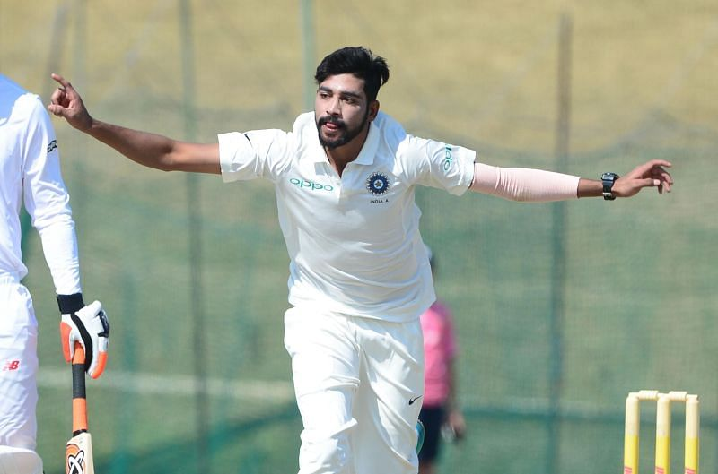 Mohammed Siraj will be looking to impress on Day 1