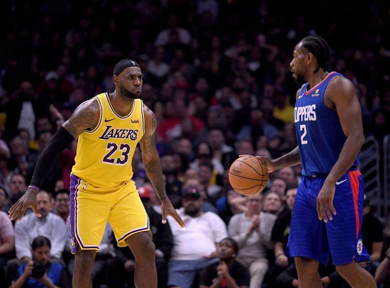 LA Lakers vs LA Clippers