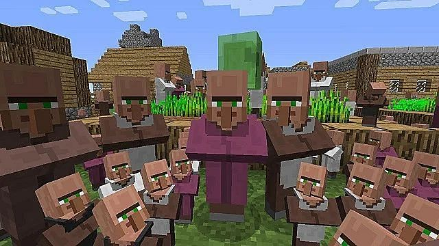 Popularity of Each Villagers in Minecraft