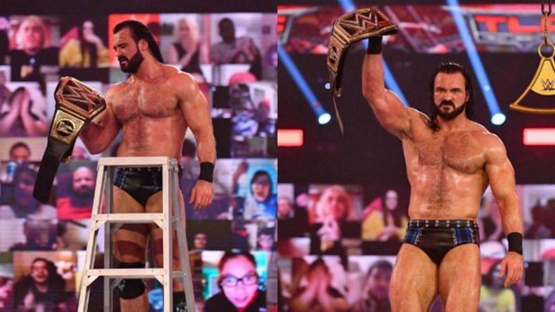 ड्रू मैकइंटायर ने तमाम मुश्किलों के बाद भी TLC 2020 में अपनी WWE चैंपियनशिप बरकरार रखा