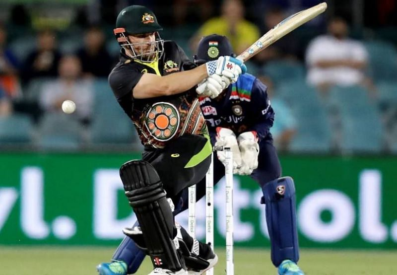 Finch top-cored for Australia in the first T20I.