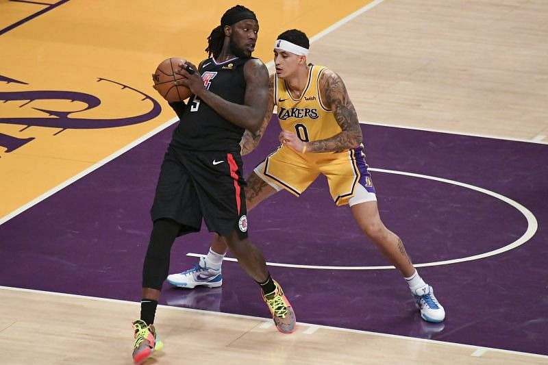 Montrezl Harrell and Kuzma, both play for the LA Lakers now