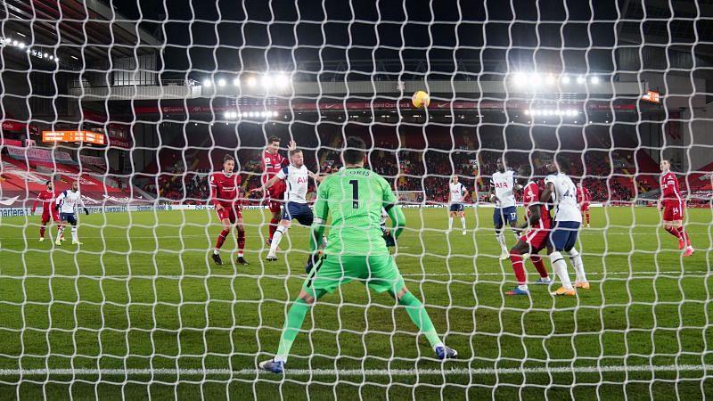 A string of solid saves from Lloris could not prevent his side from slipping to a defeat at Anfield.