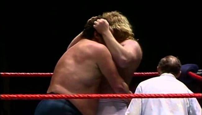 Andre the Giant and Big John Studd