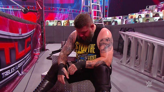 Kevin Owens was unable to win at TLC 2020