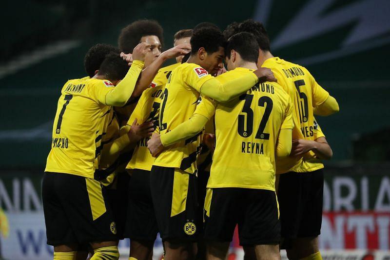 Borussia Dortmund play Eintracht Braunschweig on Tuesday