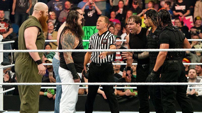 The Shield vs The Wyatt Family
