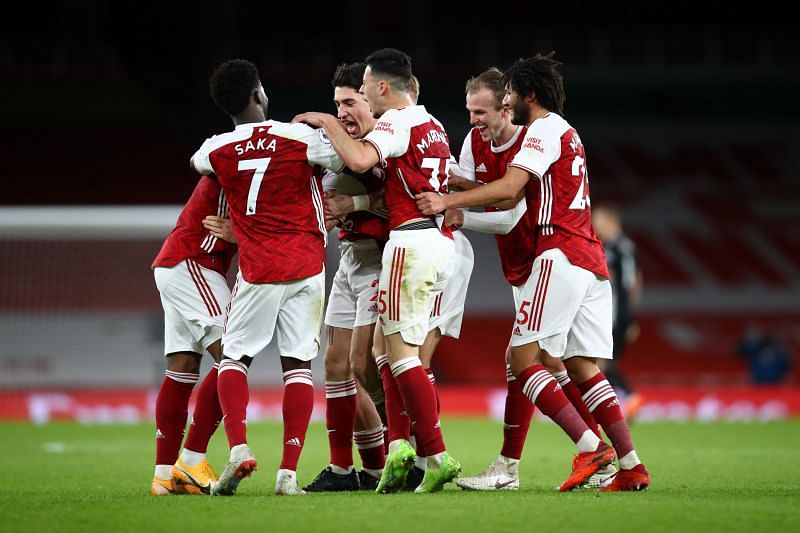 Arsenal snapped a seven-game winless streak in their last game against Chelsea