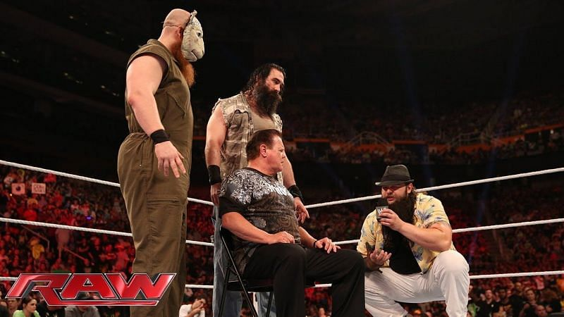 Jerry Lawler with The Wyatt Family