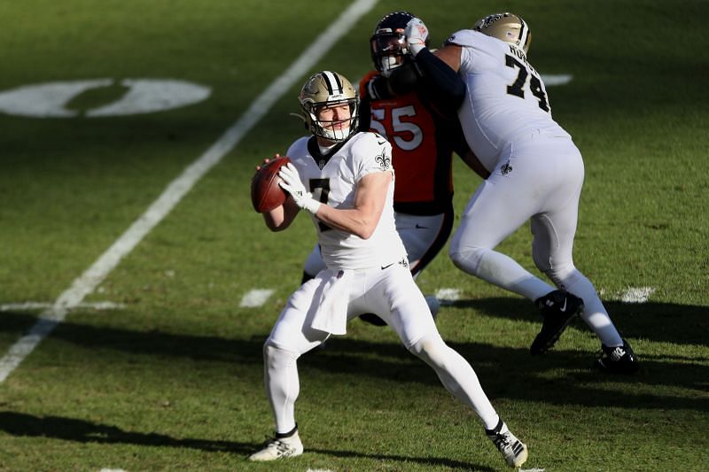 Taysom Hill of the New Orleans Saints