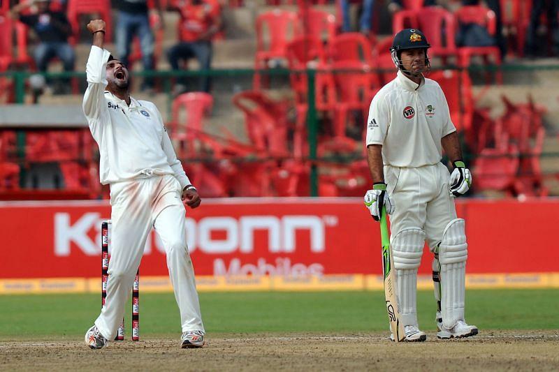 हरभजन सिंह ऑस्ट्रेलिया के खिलाफ कई बार अजेय रहे थे