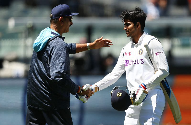 Shubman Gill scored 45 and 35* in his Test debut