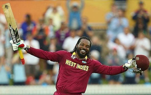Chris Gayle is one of seven players nominated for the ICC T20I cricketer of the decade award