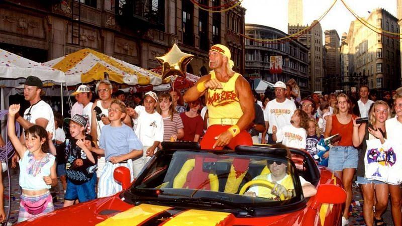 Hulk Hogan joined WCW in 1994