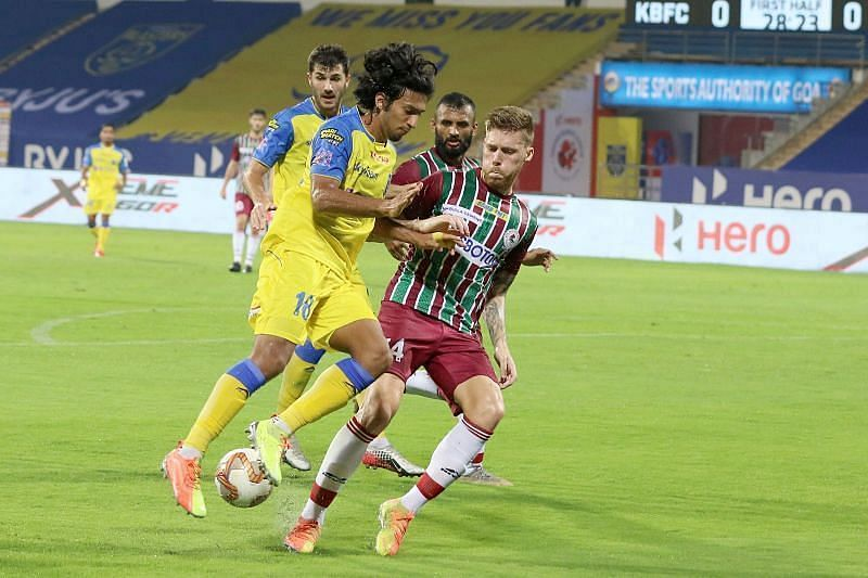 Sahal Abdul Samad could be back in the Kerala Blasters FC side (Courtesy - ISL)