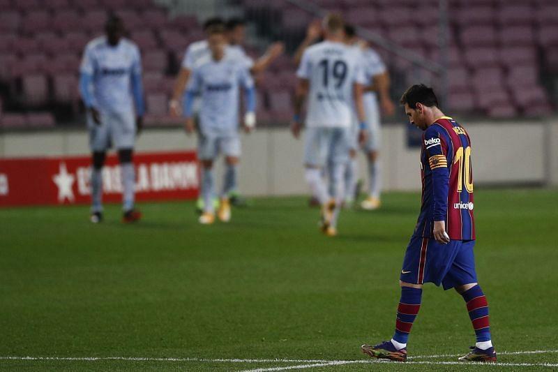 Lionel Messi finally broke his silence