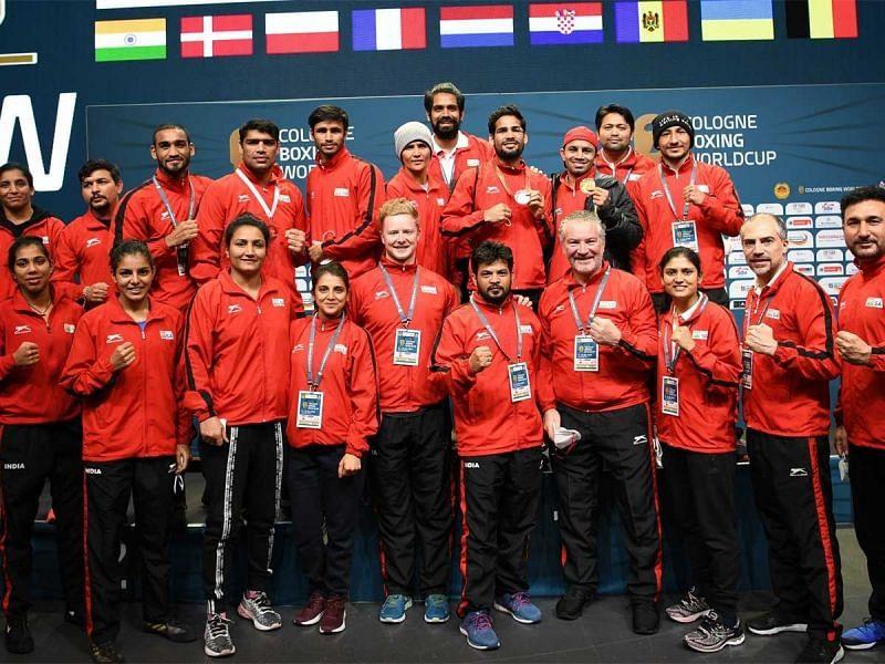 विश्व कप: भारतीय मुक्केबाजी दल