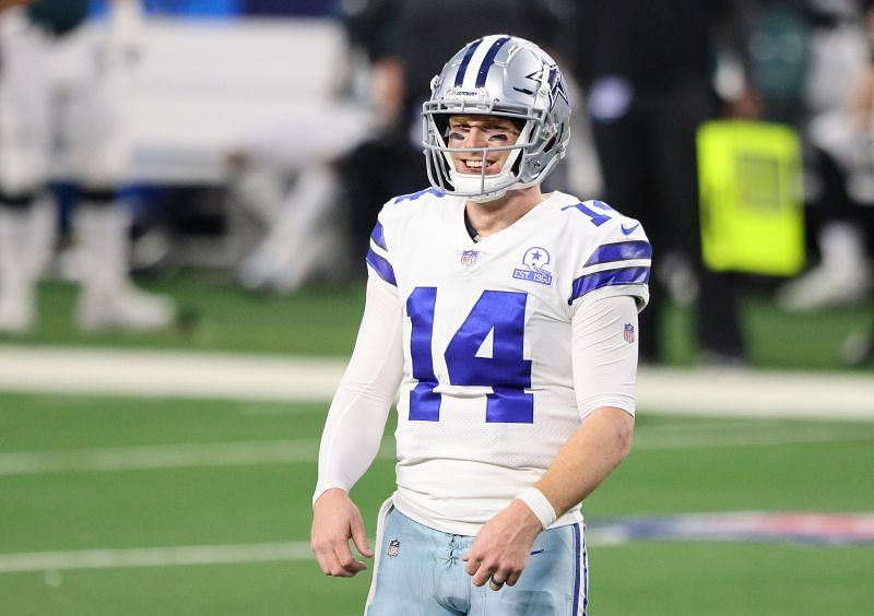 Dallas Cowboys QB Andy Dalton Looks To Keep His Team Alive For The NFC East Crown Against The New York Giants This Sunday