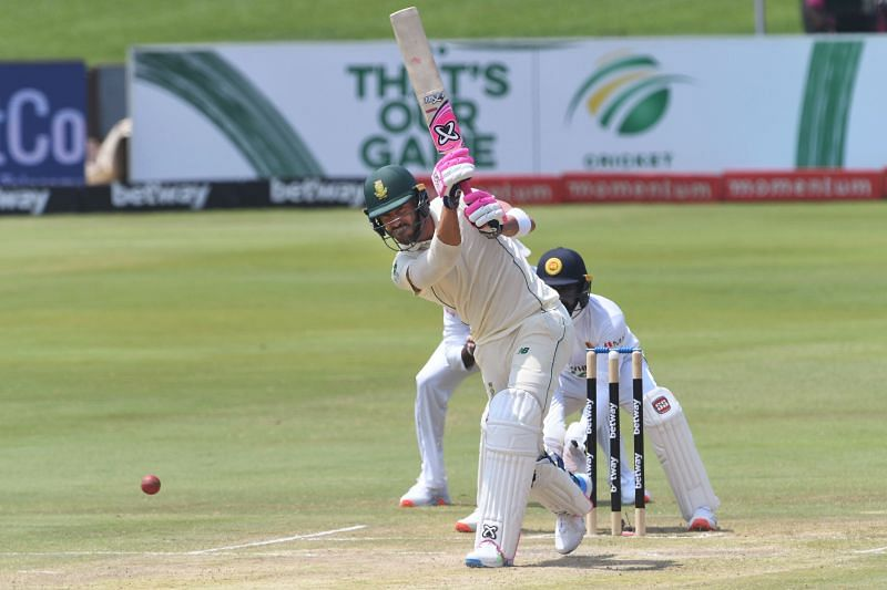 Faf du Plessis lost his wicket in the 138th over