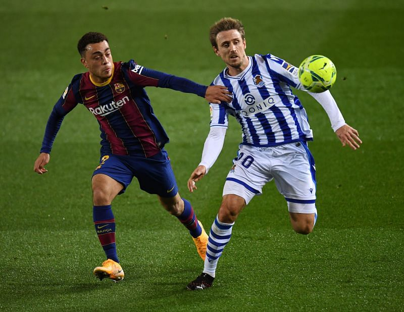 FC Barcelona secured a 2-1 victory over Real Sociedad in La Liga on Wednesday
