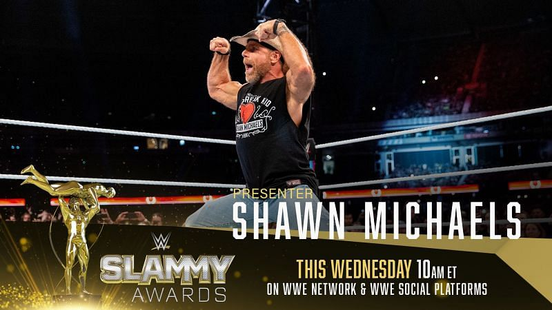 WWE Hall of Famer, Shawn Michaels among others will be a presenter at the 2020 SLAMMY Awards.