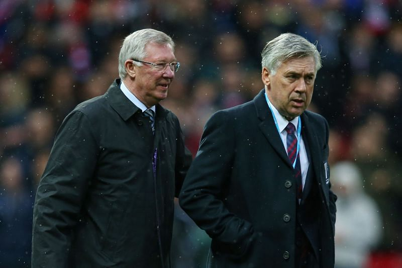 Two legendary managers.